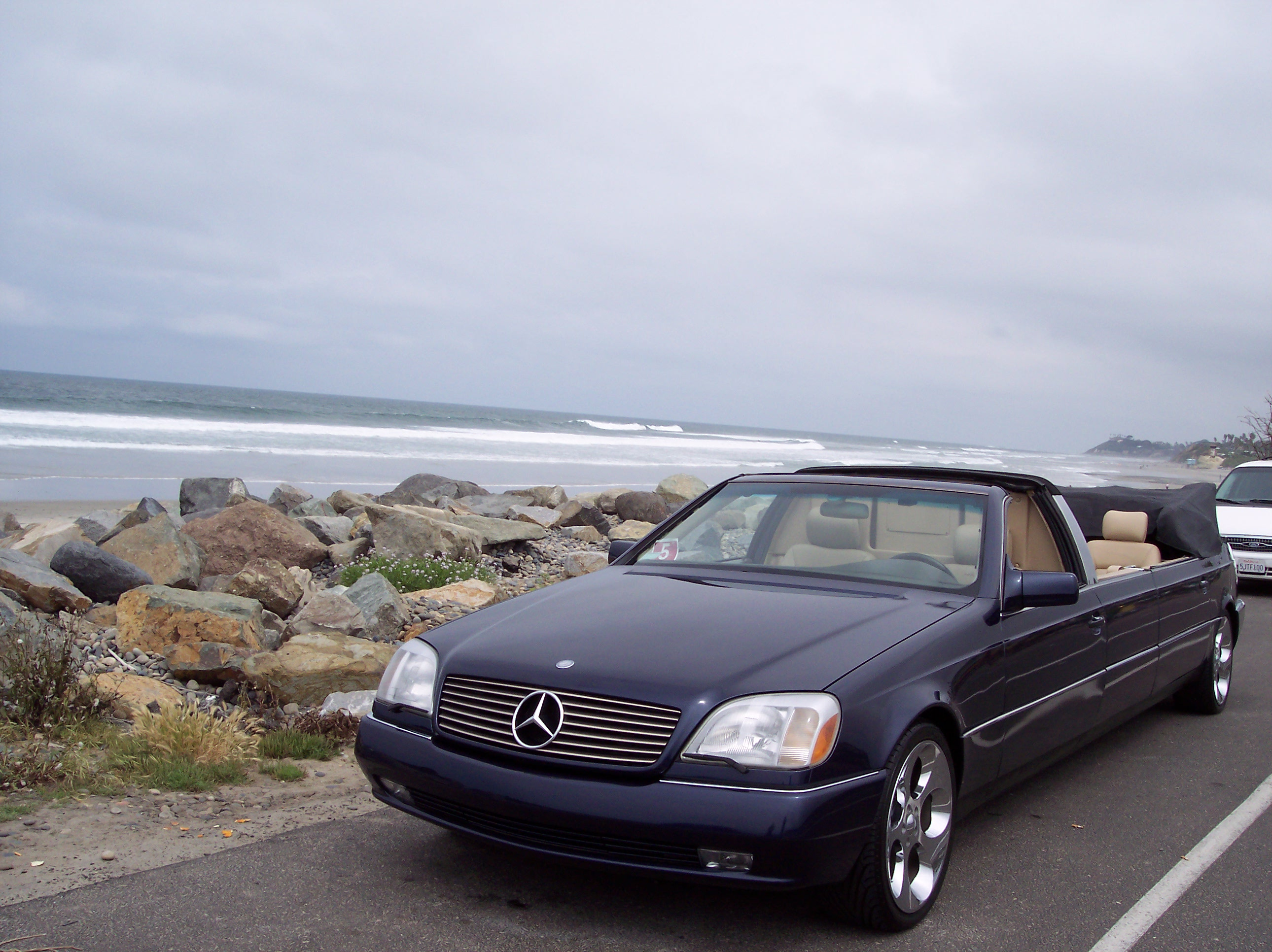 World S Only Mercedes Benz S500 Convertible Limo